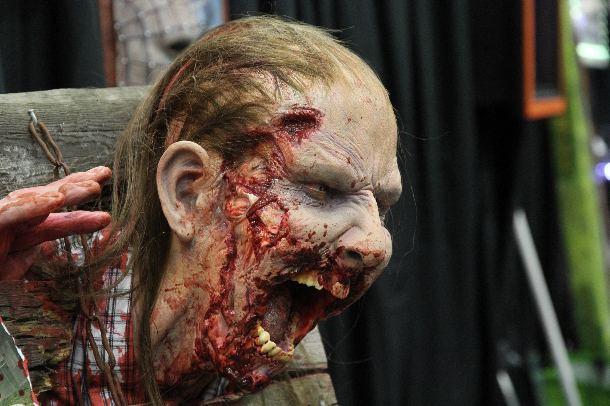 классный макияж зомби