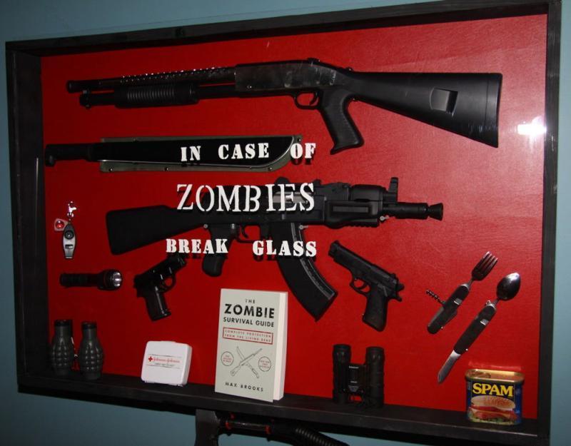 аварийный комплект на случай зомби