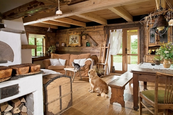 Как обустроить деревенский дом