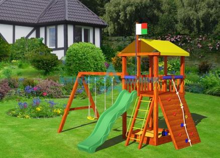 Как сделать детскую игровую площадку