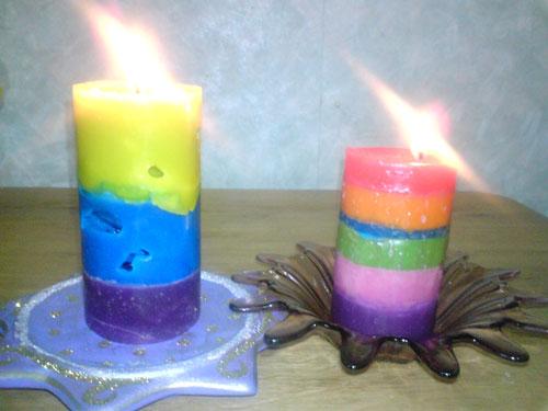 Как сделать свечи в домашних условиях