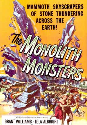 Монстры-монолиты (1957)