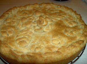 Картофельно-гречневый пирог