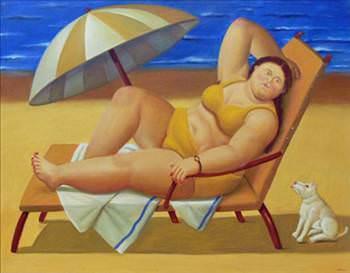 Картины Фернандо Ботеро