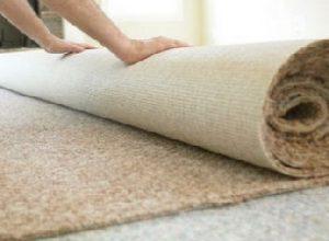 Настилка коврового покрытия