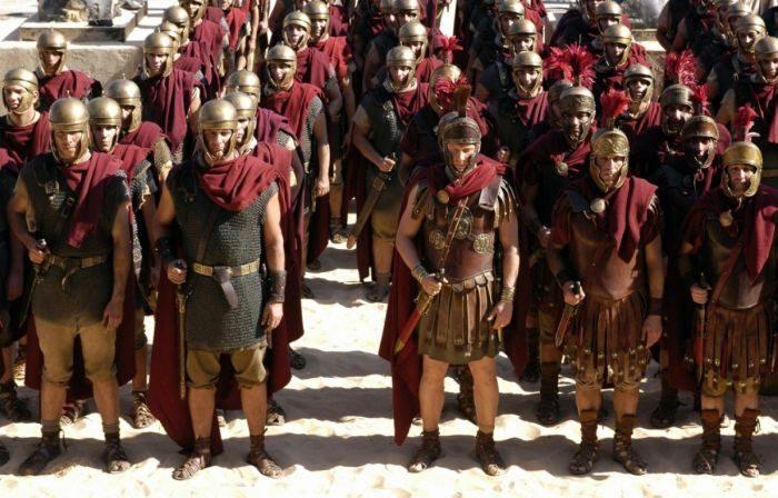 Список топ 10 лучших фильмов про Древний Рим