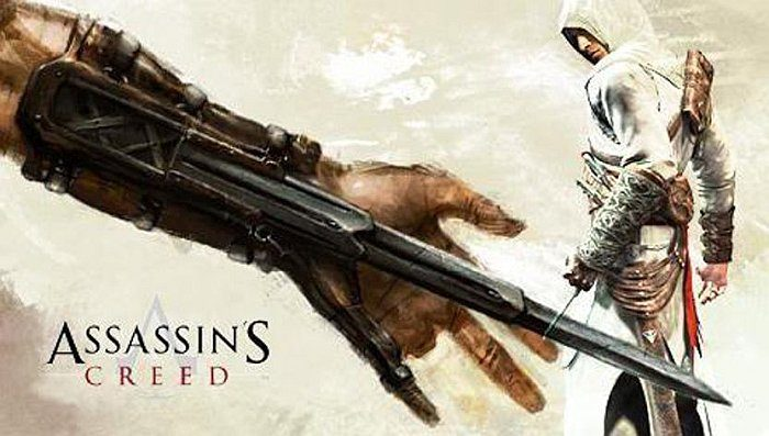 Скрытый клинок ассассина в Assassin's Creed