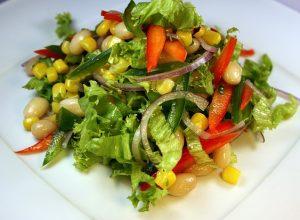 5 рецептов постных салатов