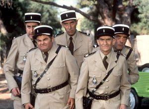 Список фильмов про жандармов с Луи де Фюнесом