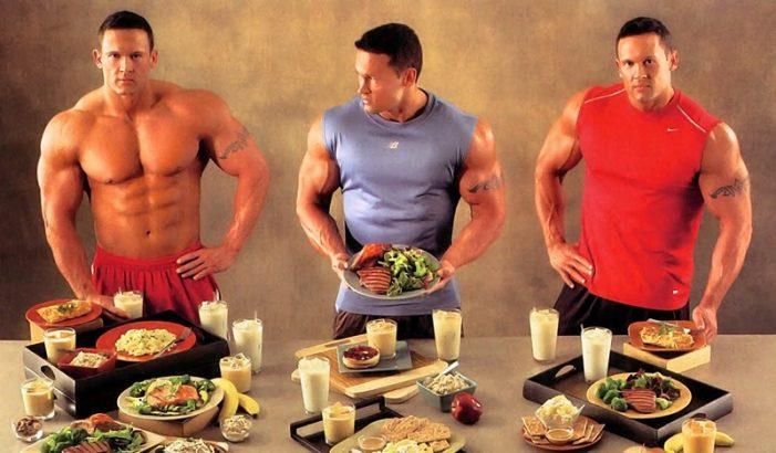 Диета бодибилдера для похудения, для набора мышечной массы и сжигания жира, набор продуктов