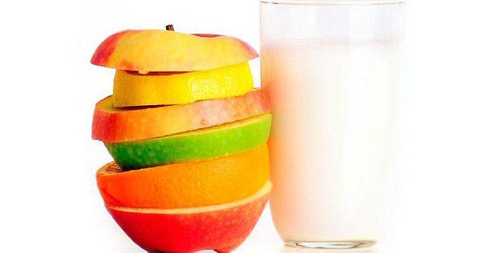Молочно-фруктовая диета - меню