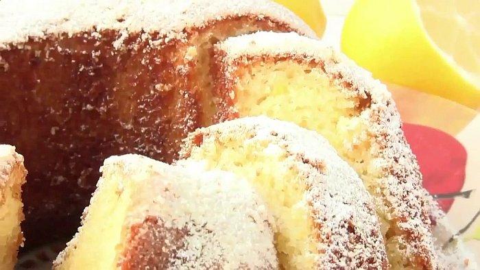 Пирожки-кексы с лимоном и изюмом