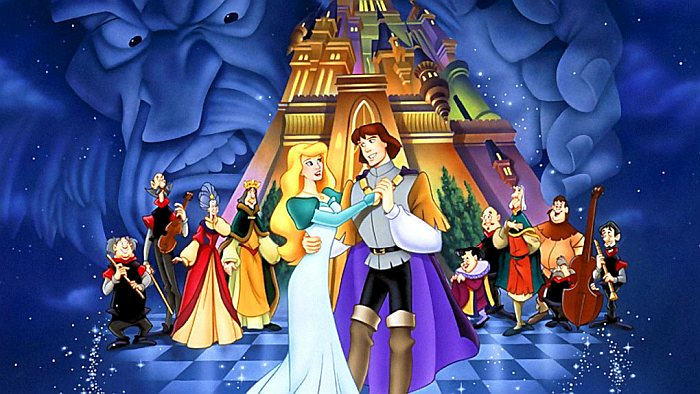 Мультфильмы Принцесса-лебедь