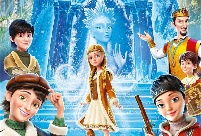 Мультфильмы Снежная Королева