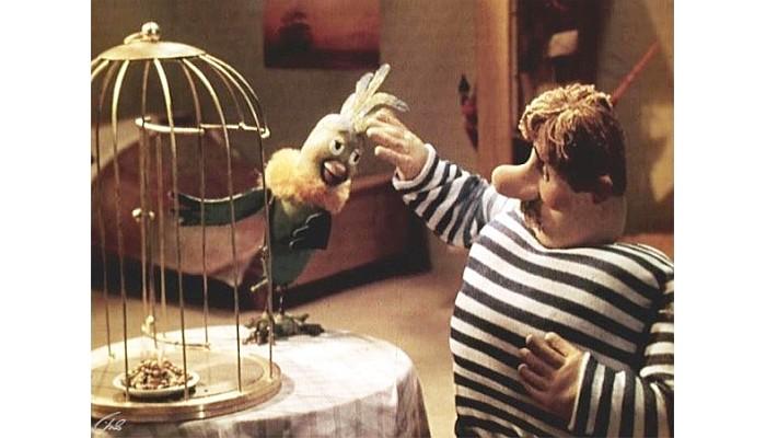 Мультфильмы Боцман и попугай