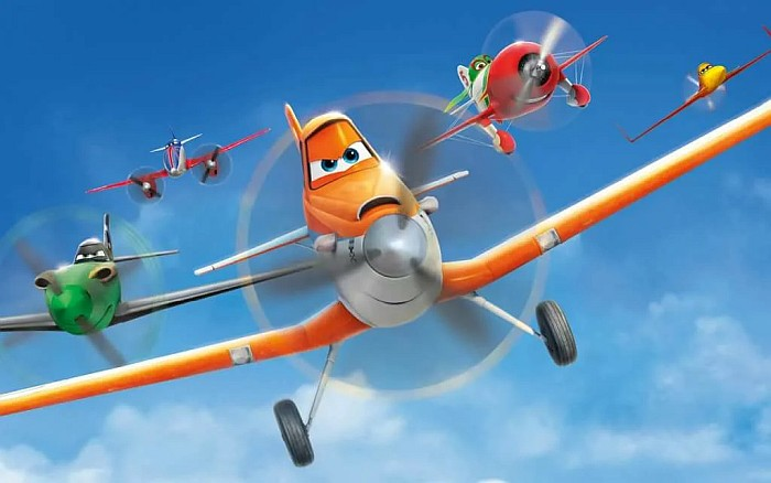 Мультфильмы Самолеты