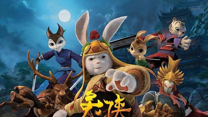 Мультфильмы Кунг-фу Кролик