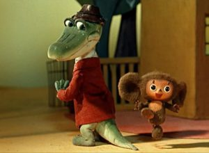 Мультфильмы про Чебурашку и Крокодила Гену