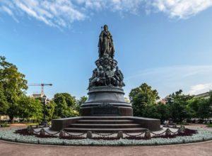 Памятники Екатерине Второй Великой