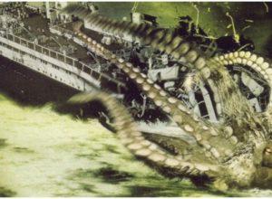 Фильмы про гигантских осьминогов, спрутов, кальмаров