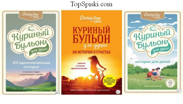 Книги Куриный бульон для души