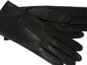 Как почистить кожаные перчатки