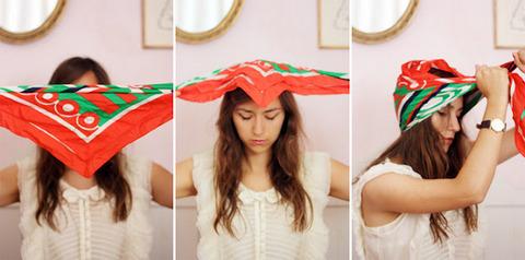 Как правильно завязывать тюрбан на голове