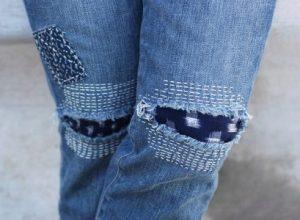 Как сделать заплатку на джинсах