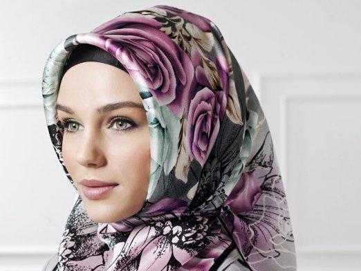 Как завязать платок мусульманке на голове