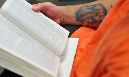 Чтение книг помогает сократить срок в тюрьме