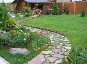 Как выложить дорожку в саду