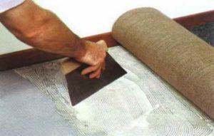 Подготовка основания при укладке ковролина