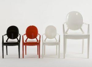 Новинка в мире мебели — стулья от Филиппа Старка для Kartell