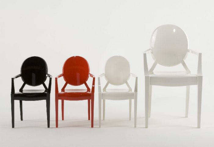 Новинка в мире мебели - стулья от Филиппа Старка для Kartell