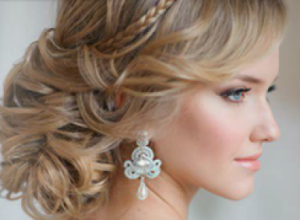Как сделать свадебную прическу