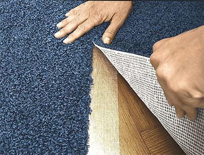 Способы укладки ковровых покрытий