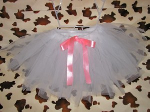 Как сделать новогоднюю юбочку для малышки