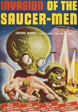Вторжение обитателей летающих тарелок (1957)