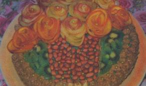 Торт «Цветочная корзина»