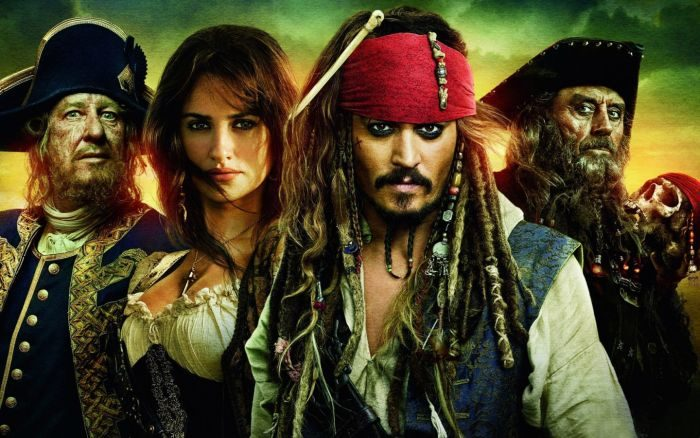 Список топ 10 лучших фильмов про пиратов