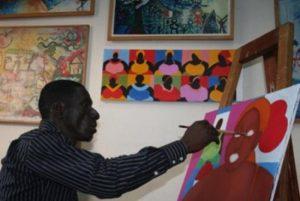 Темнокожие толстушки в картинах Огастина Касси