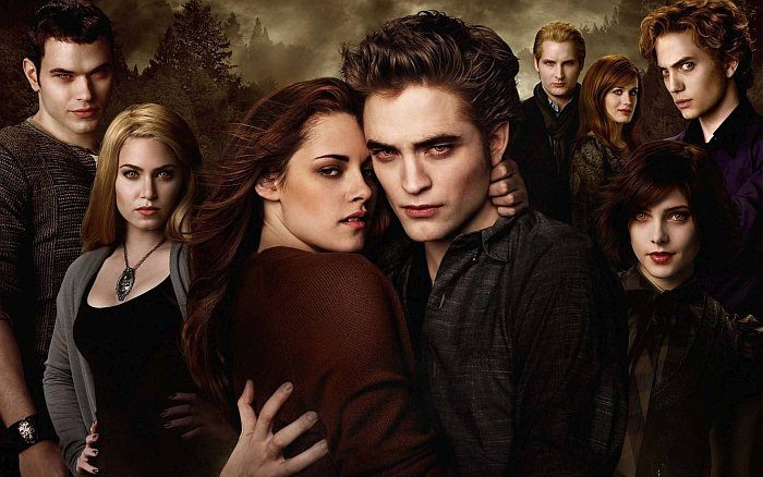 Список фильмов про вампиров и любовь