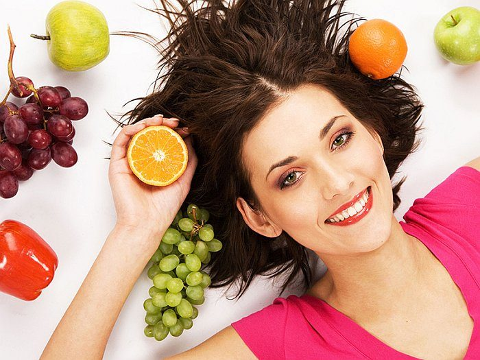 Диета для красивой кожи лица и волос - меню на неделю и отзывы