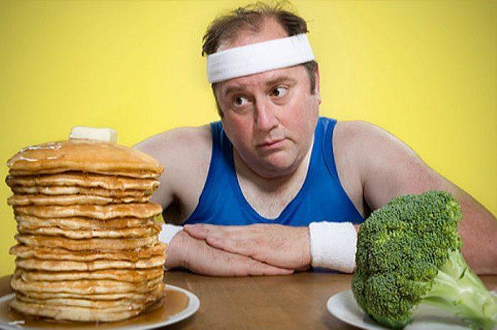 Диета для мужчин для похудения в домашних условиях - меню