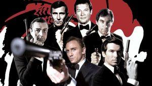 Список фильмов про Джеймса Бонда 007