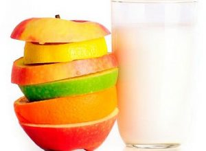 Молочно-фруктовая диета — меню
