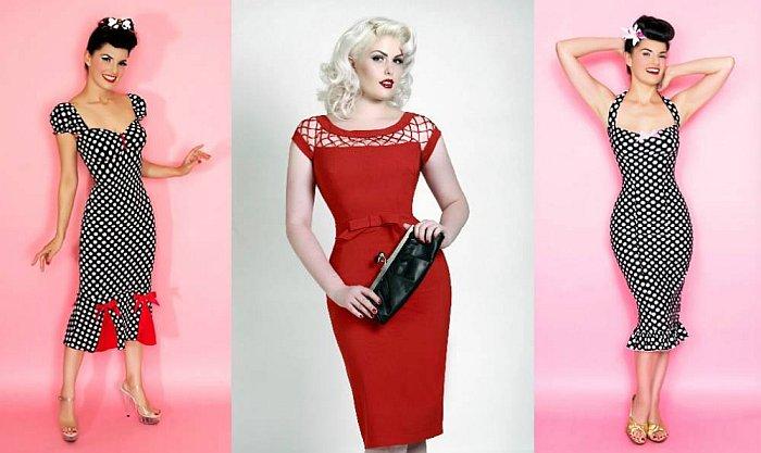 Интернет-магазины одежды в стиле пин-ап